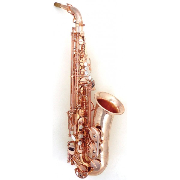 Alto Sax - Pink Gold Plated Bronze
