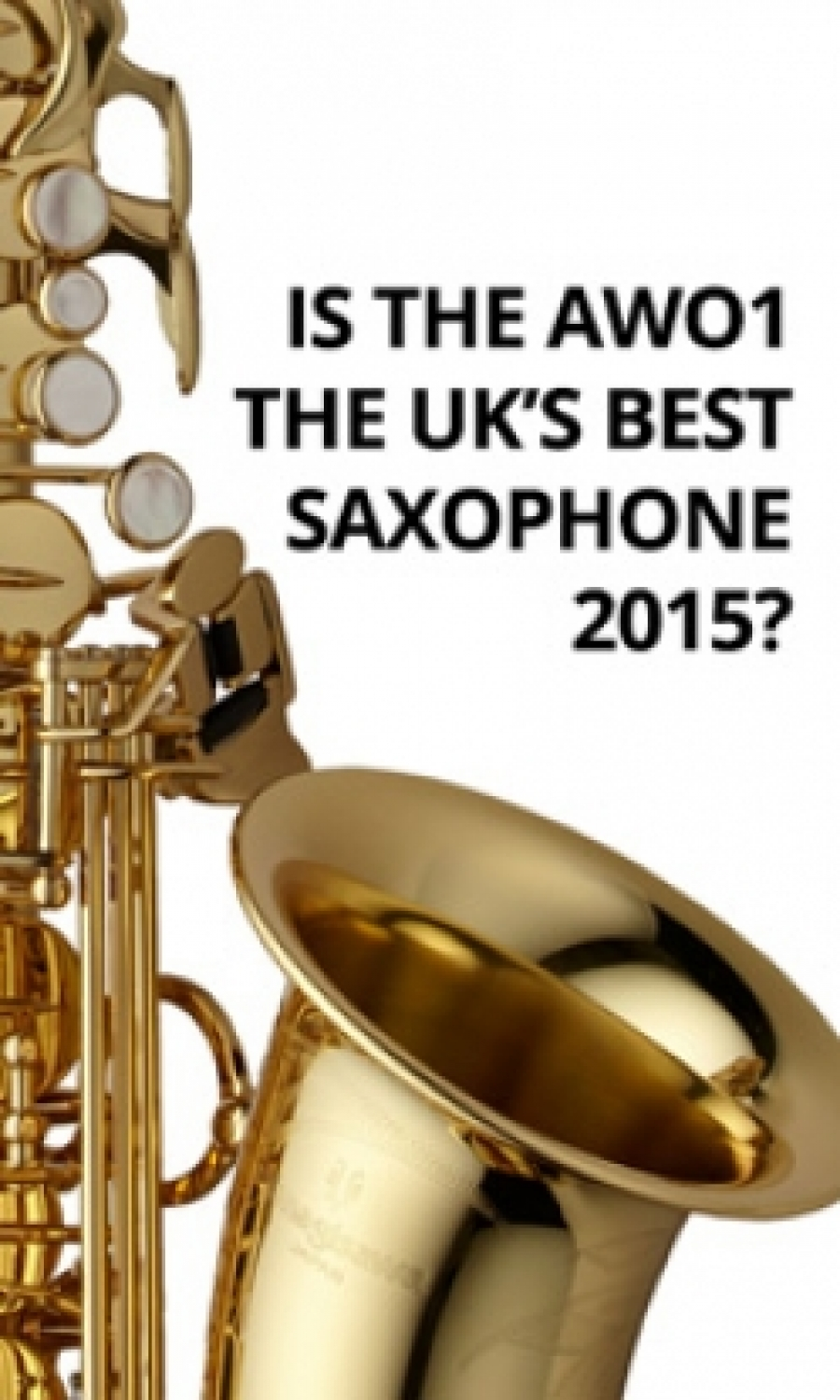 AWO1 nominated as UK's Best Sax 2015