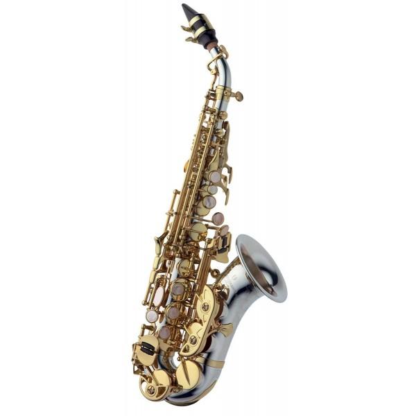 Soprano Sax Curved - Solid Silver