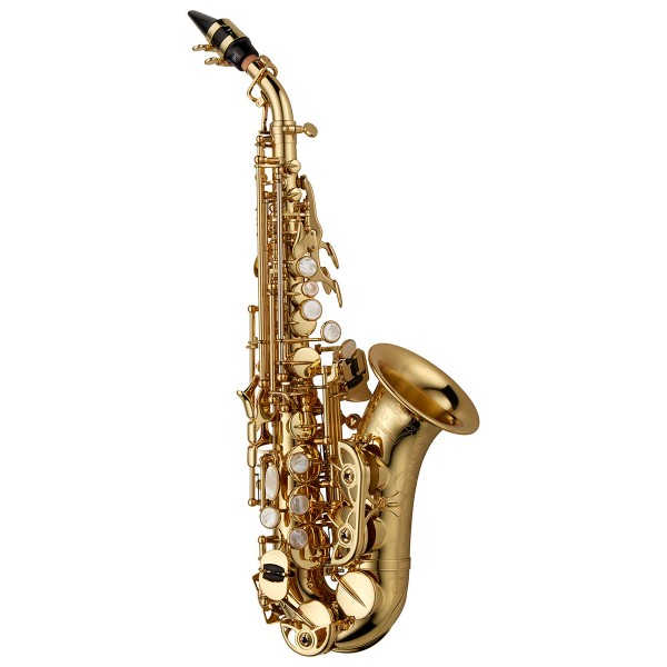 Soprano Sax Curved - Elite Brass Lacquered