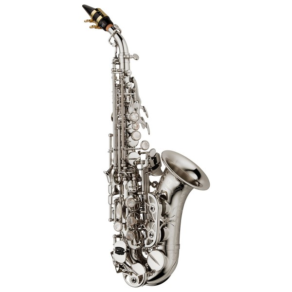 Soprano Sax Curved - Elite Brass Silverplated