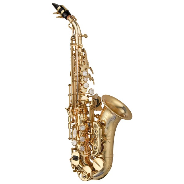 Soprano Sax Curved - Elite Brass Unlacquered