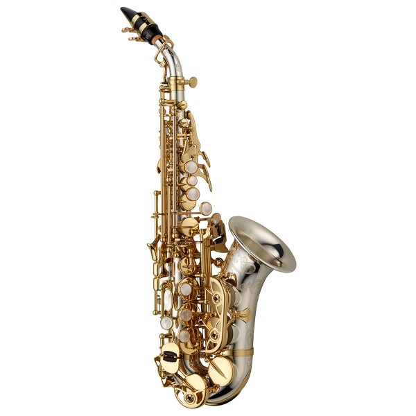 Soprano Sax Curved - Elite Solid Silver Neck, Body & Bell