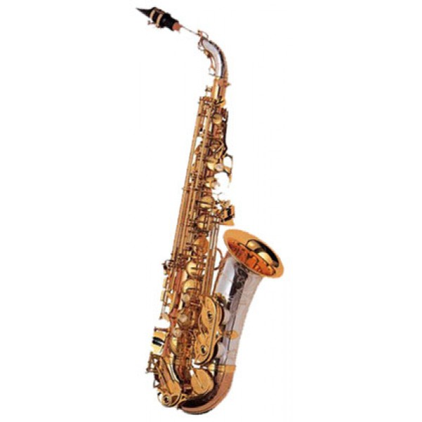 Alto Sax - Solid Silver B,N,C - Bronze Body & Bow