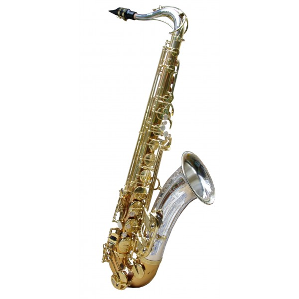 Tenor Sax - Silver Crook & Bell - Bronze Body & Bow