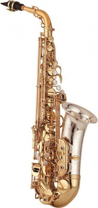 Alto Sax - Solid Silver Bell & Neck - Brass Body