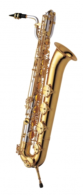 Baritone Sax - Solid Silver Neck & Body, Brass Bow & Bell