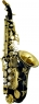 Soprano Sax Curved - Black