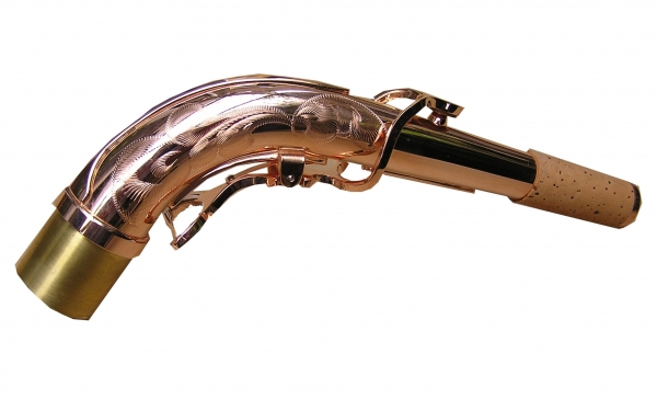 Alto Neck (Pink Gold Plated Bronze)