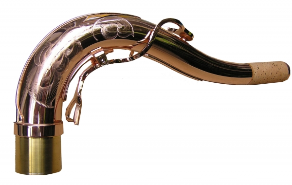 Tenor Neck (Pink Gold Plated Bronze)